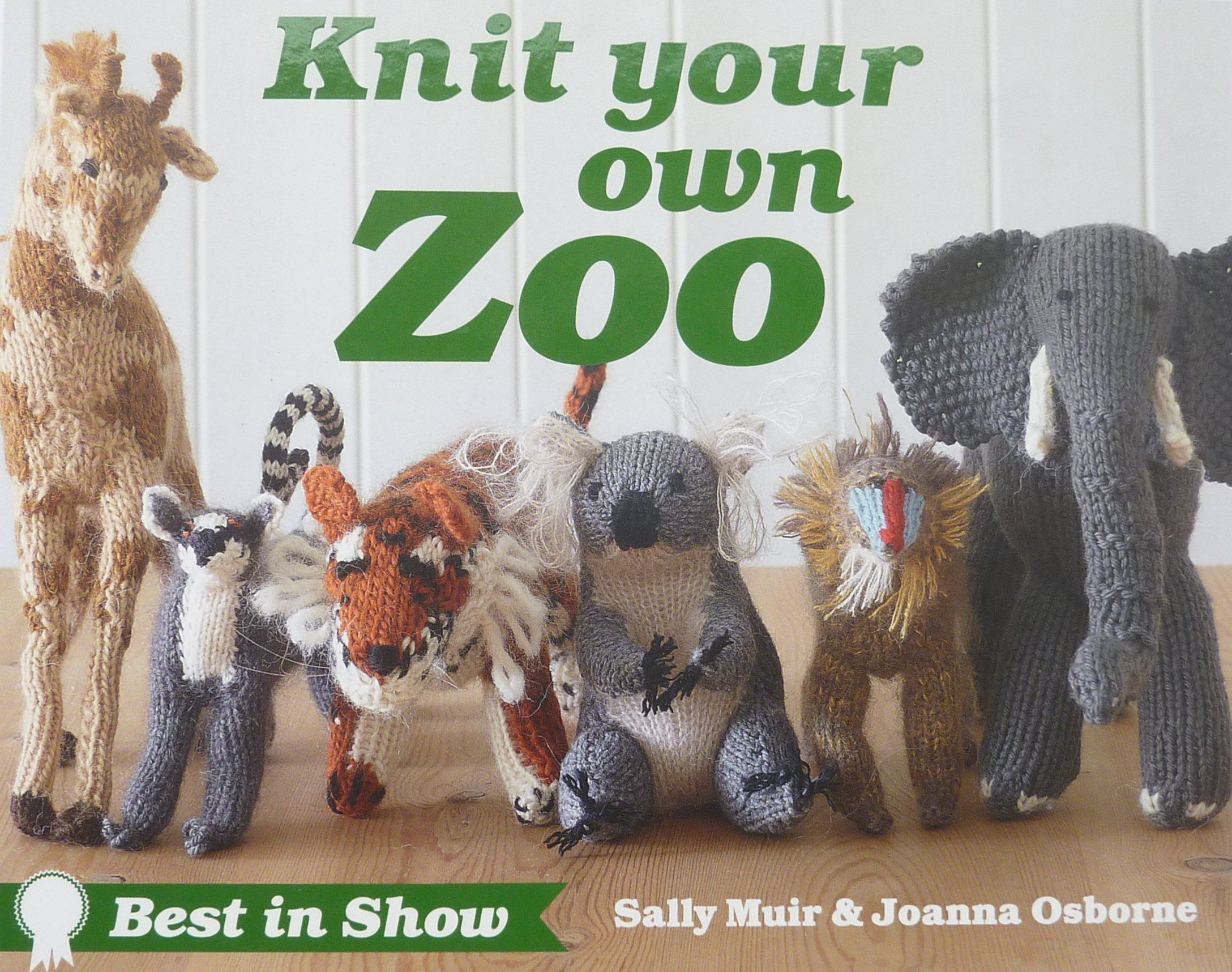 Knitting Patterns Zoo Animals : Knit Your Own Zoo   Best In Show   Muir & Osborne