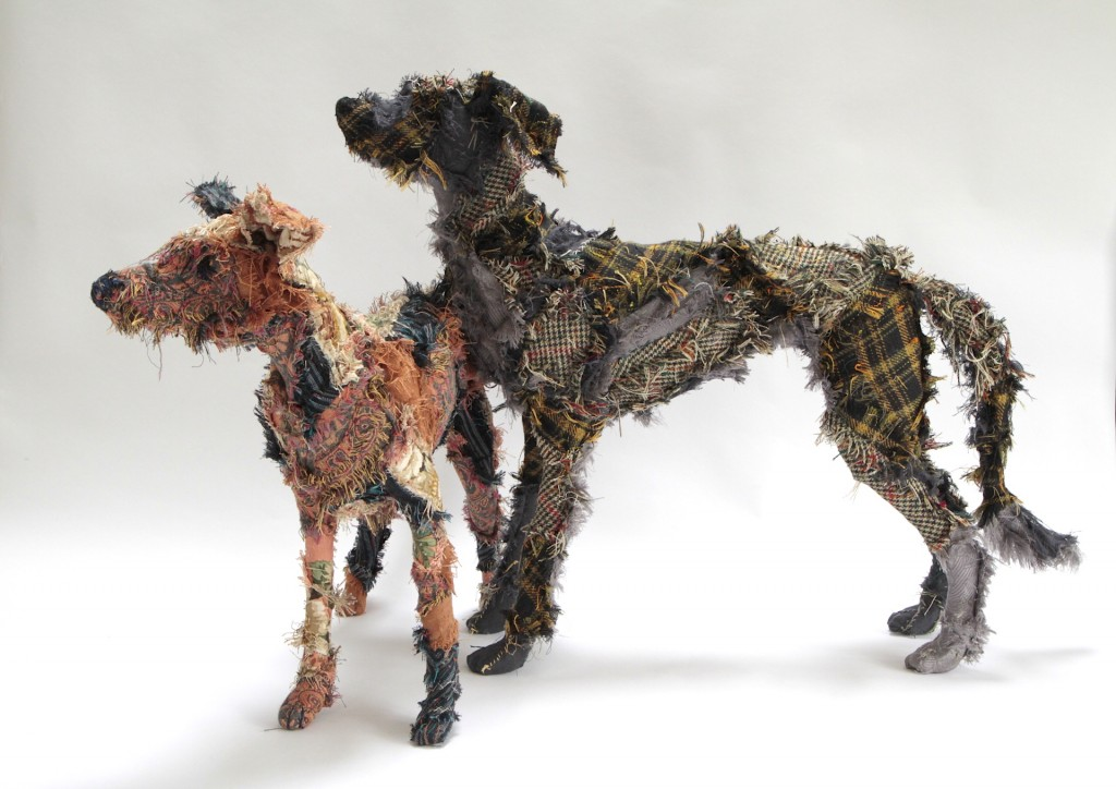 Haberdasher's dog and Scottish Deerhound
