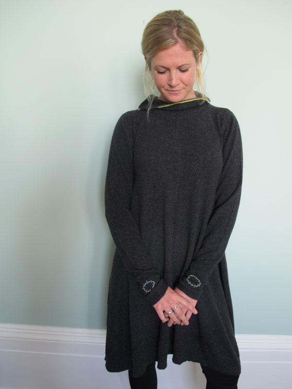 ddac4f0bbad8 Polo Cashmere Swing Dress in Charcoal – Muir & Osborne