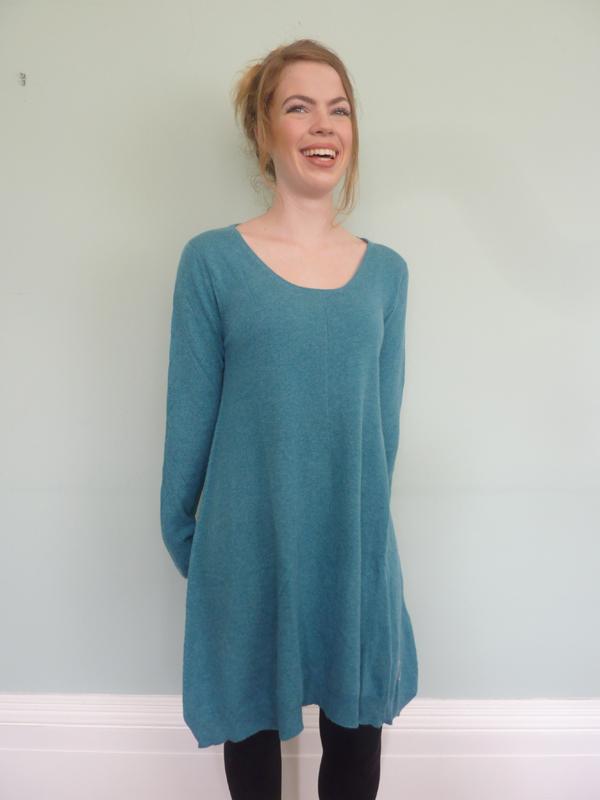 9eefa3710620 Lace Cashmere Dress in Venetian Green – Muir & Osborne